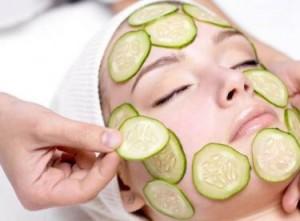 cilt yenileyici salatalık maskesi